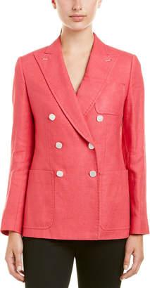 Max Mara Adorni Silk & Wool-Blend Jacket