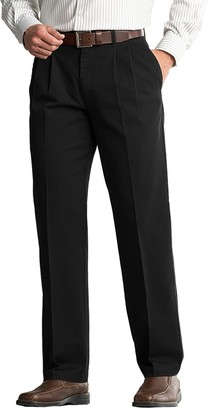 Lee Men's Comfort Fit Classic-Fit Pleated Pants