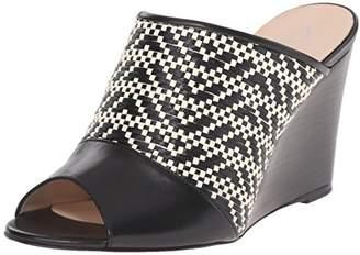 Aquatalia Women's Sonya Anil Calf Combo Wedge Sandal