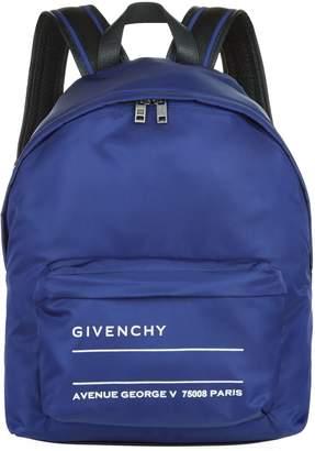 Givenchy Address Label Backpack
