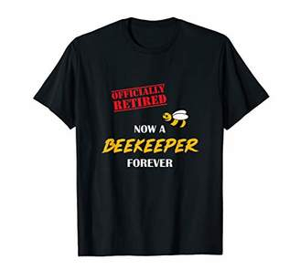 Now A Beekeeper Forever - Funny Shirt