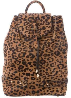 Meli-Melo Ponyhair Convertible Backpack Tan Ponyhair Convertible Backpack