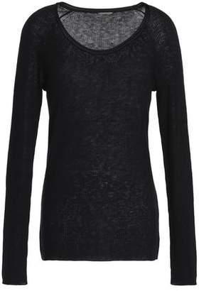 Elie Tahari Ribbed Wool-Blend Sweater