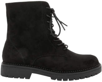 Miss Shop Jackson Black Micro Boot