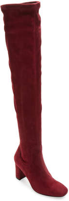 LK Bennett L.K.Bennett Lorde Suede Over The Knee Boot