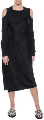 Alexander Wang Slip Dress With T-shirt