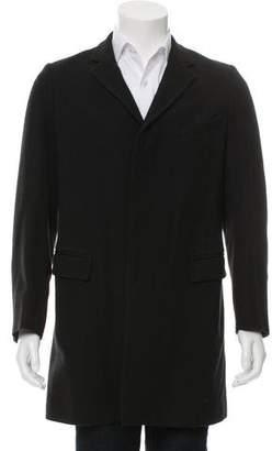 Dries Van Noten Wool-Blend Notch-Lapel Coat