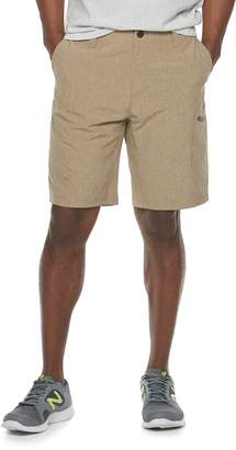 ZeroXposur Men's Anvil Yarn-Dyed Stretch Travel Shorts