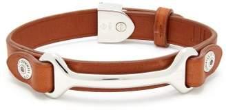 Dunhill Leather Bracelet - Mens - Tan