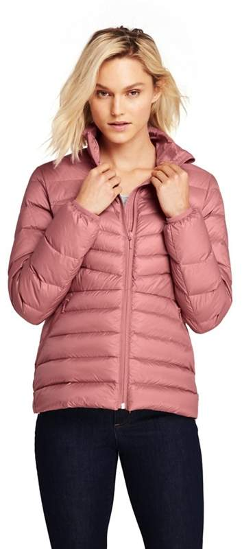 Pink Ultra Light Packable Down Jacket