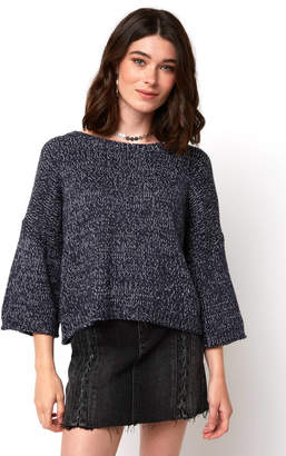 Keighley Wide Sleeve Marled Pullover