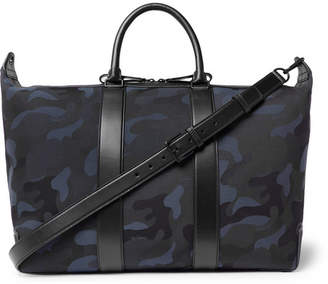 21b01dc4c7 Free Standard Delivery at MR PORTER · Mulberry Leather-Trimmed  Camouflage-Print Canvas Holdall