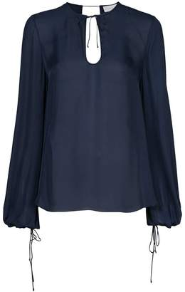 Rebecca Vallance Lilly long-sleeve blouse