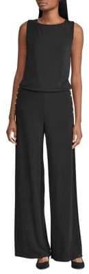 Lauren Ralph Lauren Petite Jersey Wide-Leg Jumpsuit