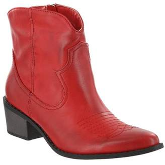 Mia Esme Western Block Heel Bootie