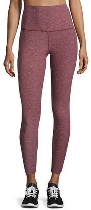 The North Face Super Waisted Performance Leggings, Deep Garnet Red Heather $80 thestylecure.com