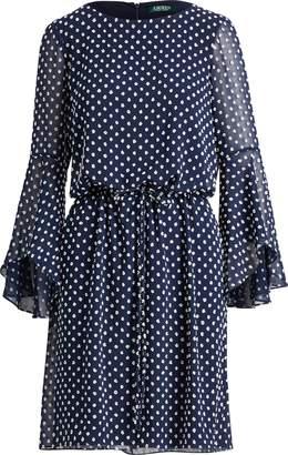 Ralph Lauren Polka-Dot Dress