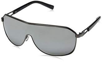Rocawear Men's R1490 Gunm Non-Polarized Iridium Shield Sunglasses