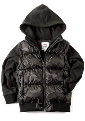Appaman Black Hooded Jacket