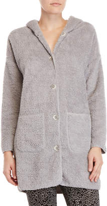 Jessica Simpson Hooded Lurex Robe