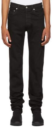 Helmut Lang Black Masc Hi Straight Jeans