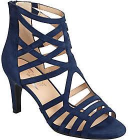 Aerosoles Heel Rest Leather Caged Dress Sandals