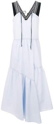 Schumacher Dorothee striped flared dress