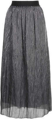 H Beauty&Youth creased maxi skirt