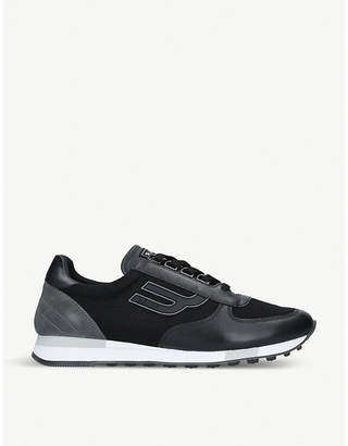 Bally Galaxy suede and leather trainers