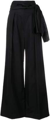 Sportmax Code tie waist palazzo pants