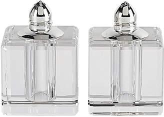 Badash Crystal Vitality Platinum Salt & Pepper Shaker Pair
