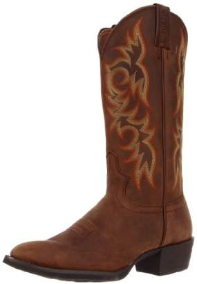 "Justin Boots Men's Stampede Collection 13"" Western Boot Medium Round Toe"