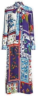 Escada Sport Women's Mixed Floral Maxi Dress