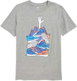 Nike Sneaker Pile Graphic T-Shirt