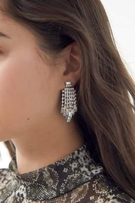 Urban Outfitters Lena Rhinestone Cluster Earring