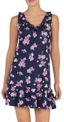 Lauren Ralph Lauren Floral Cotton Short Nightgown