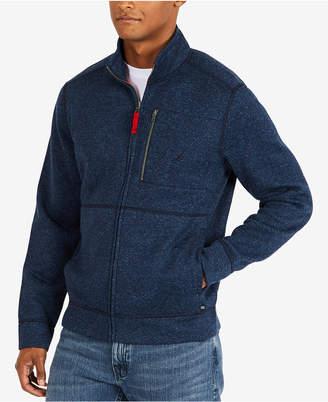 Nautica Men's Fleece Zip-Up Jacket