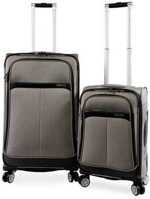Perry Ellis American Traveler Marquis 2-Piece Luggage Set 252fc12100263