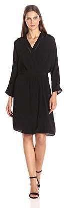 Maison Scotch Scotch & Soda Women's Drapey Viscose Wrapover Dress