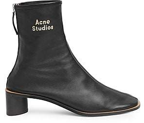 Acne Studios Women's Bertine Leather Booties