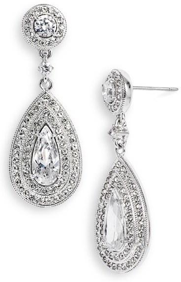 Nadri Women's Pear Drop Earrings