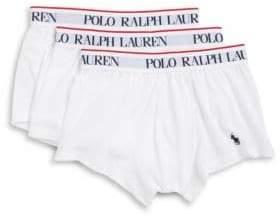 Polo Ralph Lauren Stretch-Jersey Trunk Set of Three