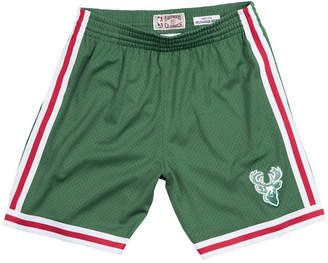Mitchell & Ness Men's Milwaukee Bucks Swingman Shorts