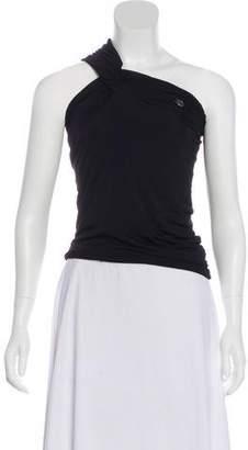 Just Cavalli One-Shoulder Sleeveless Top