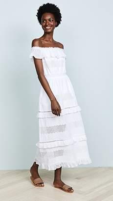 kisuii Off Shoulder Maxi Dress