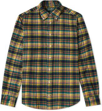 Gitman Brothers Plaid Flannel Shirt