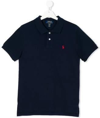 Ralph Lauren Kids Teen logo patch polo shirt