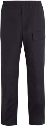 Stella McCartney Patch-pocket cotton-poplin trousers
