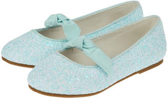 Monsoon Betsy Bow Ballet Pumps