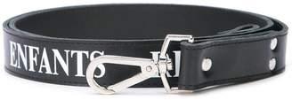 Enfants Riches Deprimes logo leather leg harness